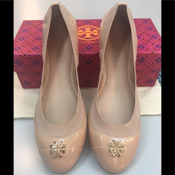 Nib Patent Leather Jolie Ballet Flats